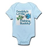 DADDY'S LITTLE FISHING BUDDY!  Baby Onesie