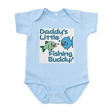 DADDY'S LITTLE FISHING BUDDY! Infant Bodysuit