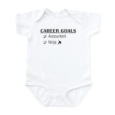 Accountant Carreer Goals Onesie