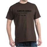 Accountant Carreer Goals T-Shirt