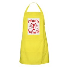 Want To Pinch Yor Tail BBQ Apron