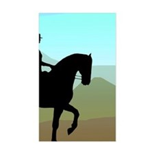 Craftsman Dressage Rectangle Decal