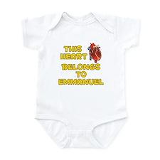 This Heart: Emmanuel (A) Infant Bodysuit