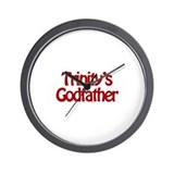 Trinity's Godfather Wall Clock