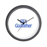 Eli's Godfather Wall Clock