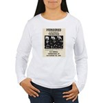 Tombstone Murder Women's Long Sleeve T-Shirt