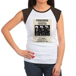 Tombstone Murder Women's Cap Sleeve T-Shirt