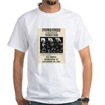 Tombstone Murder White T-Shirt
