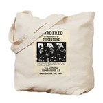 Tombstone Murder Tote Bag