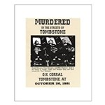 Tombstone Murder Small Poster