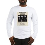 Tombstone Murder Long Sleeve T-Shirt