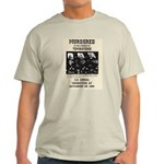 Tombstone Murder Light T-Shirt