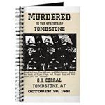 Tombstone Murder Journal