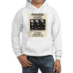 Tombstone Murder Hooded Sweatshirt