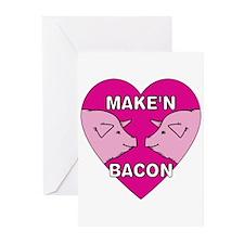 Make'n Bacon Greeting Cards (Pk of 10)