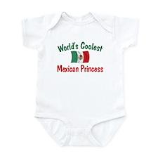 Coolest Mexican Princess Infant Bodysuit