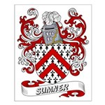 Sumner Coat of Arms Small Poster