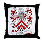 Sumner Coat of Arms Throw Pillow