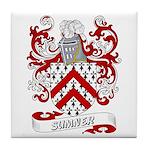 Sumner Coat of Arms Tile Coaster