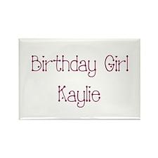 Birthday Girl Kaylie Rectangle Magnet