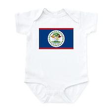Belize Country Flag Infant Bodysuit