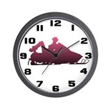 Snowboots Wall Clock