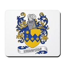 Thompson Coat of Arms Mousepad