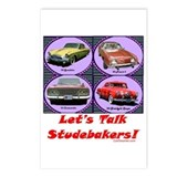 """Let's Talk Studebakers"" Postcards (Pack"