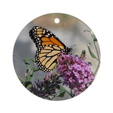 Monarch Ornament (Round)