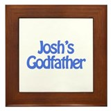 Josh's Godfather Framed Tile