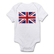 Union Jack UK Flag Infant Bodysuit