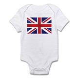 Union Jack UK Flag Onesie