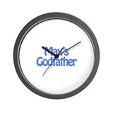 Max's Godfather Wall Clock