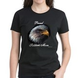 Proud Soldiers Mom (eagle/fla Tee