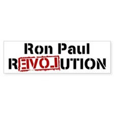 PAUL rEVOLution Bumper Bumper Sticker