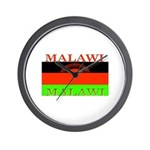 Malawi Flag Wall Clock