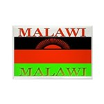 Malawi Flag Rectangle Magnet (100 pack)