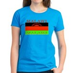 Malawi Flag Women's Dark T-Shirt