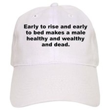 Cool Male quotes Baseball Cap
