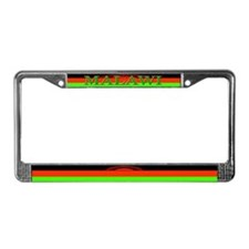 Malawi Blank Flag License Plate Frame