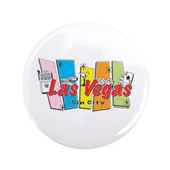 "Las Vegas Retro 3.5"" Button"