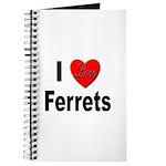 I Love Ferrets Journal