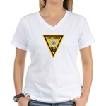 NJSP Freemason Women's V-Neck T-Shirt