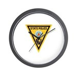 NJSP Freemason Wall Clock