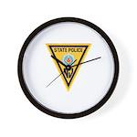 NJSP Freemason Wall Clock