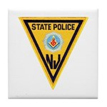 NJSP Freemason Tile Coaster