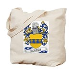 Vernon Coat of Arms Tote Bag