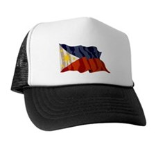 Philippines Flag Trucker Hat