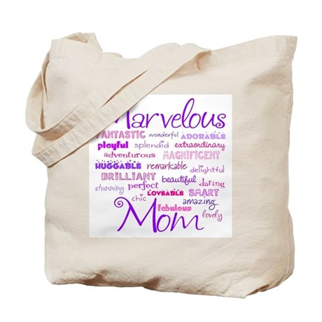 Marvelous Mom (Mother) Tote Bag