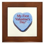 My First Valentine's Day Framed Tile